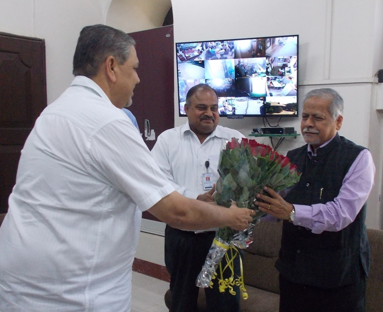 Professor Pandit Vidyasagar, Vice Chancellor