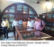 Visit by Prof. Andrew from Melbourne University, Australia