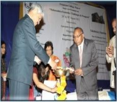Inuagration  By VC Dr.Vasudeo Gade