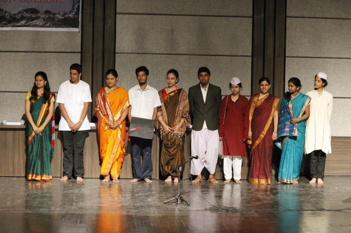 german Skit written and performed by TYBA Students(received first prize at the German One act play competition organized by Forum Deutsch