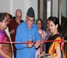 exhibition GerMania 2014 Inaugurated at the hands of Dr. Mohan Agashe