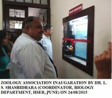 Zoology association inaugration by L.S. Shashidhara