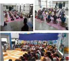YOGA DAY AND OLYMPIC DAY